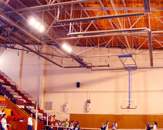 Sports Hall Heaters